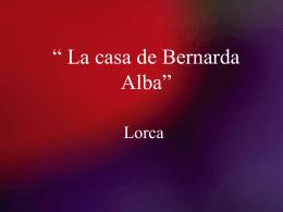 Bernarda Alba