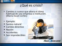 Comunicación en crisis de cólera