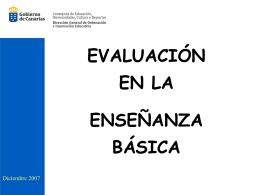 evaluación en la eso - Gobierno de Canarias