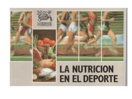LA NUTRICIÓN EL EL DEPORTE