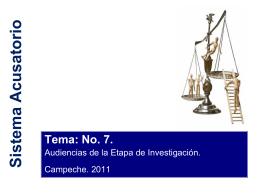 Cuestión valorativa - Escuela Judicial del Estado de Campeche