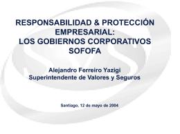 Documento Apoyo Sr. Alejandro Ferreiro, Superintendente