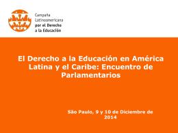 os - Campaña Latinoamericana por el Derecho a la Educación