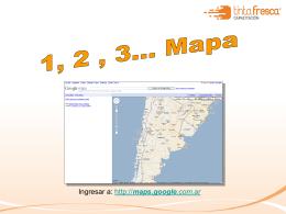 Cómo buscar una localidad, o dirección en mapas on