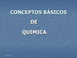 QUÍMICA ANALÍTICA I L.Q.I. Angelina Domínguez Chicas