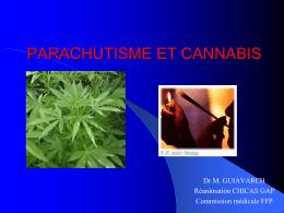 PARACHUTISME ET CANNABIS - Fédération Française de