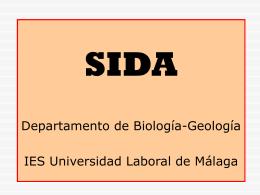 ¿Qué es el SIDA? - Universidad Laboral de Málaga