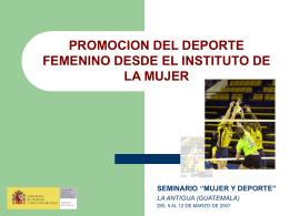 Soledad García Martín - Consejo Superior de Deportes
