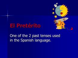 ElPretérito-arendingverbs