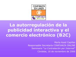 Sistema de autorregulación integral para el comercio electrónico
