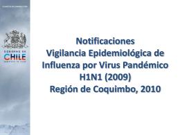 Notificaciones Prese.. - Servicio de Salud Coquimbo