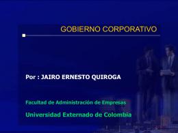 gobierno corporativo - Consejo Profesional de Administración
