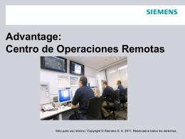 Advantage: Centro de Operaciones Remotas