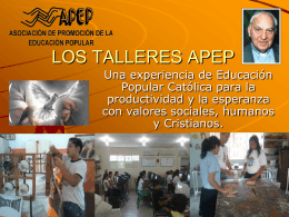 Presentación síntesis Educación y Evangelio Prof. Molina