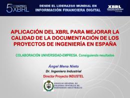 V Congreso XBRL - Asociación XBRL España