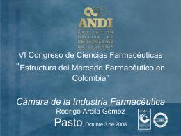 Estructura del Mercado Farmacéutico en Colombia (2008)