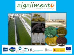 Presentación proyecto ALGALIMENTO