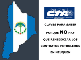 Documento - CTA Neuquen