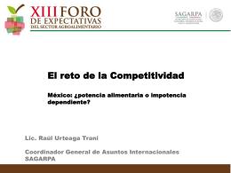 México: ¿potencia alimentaria o impotencia dependiente?