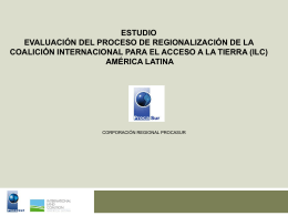 Diapositiva 1 - International Land Coalition