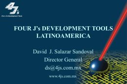 Four J`s Development Tools