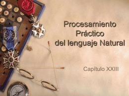 Procesamiento Práctico del lenguaje Natural