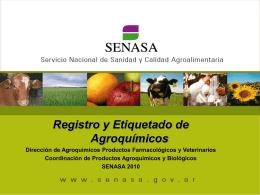 ASPECTOS RELACIONADOS AL BUEN USO DE AGROQUIMICOS