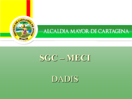 SGC - Dadis