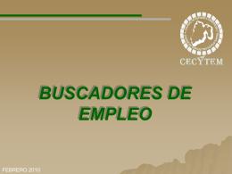 buscadores de empleo - CECyTEM PLANTEL COACALCO