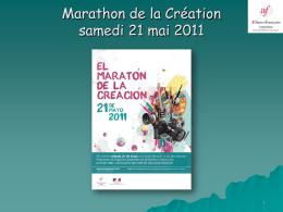 Marathon de la création 2010