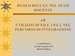 RE 29 gennaio 15 Martinelli - Ufficio Scolastico di Reggio Emilia