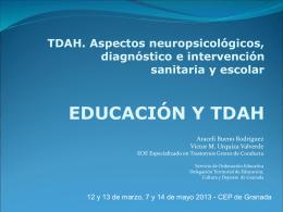 EDUCACION Y TDAH CEPmayo13 DEFINITIVO