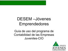 Manual del programa de contabilidad CIO