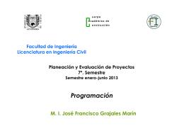 Presentacion de - Facultad de Ingeniería Campus I