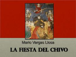 31.3.2011 Carolin Ramsauer: La fiesta del Chivo von Mario Vargas