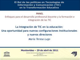 Presentación de PowerPoint - Oficina de la UNESCO en