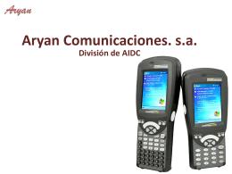 AIDC - Aryan Comunicaciones