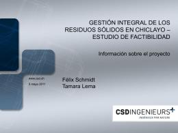 Diapositive 1 - Municipalidad Provincial de Chiclayo
