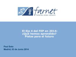desarrollo local - farnet - REGP (Red Española de Grupos de Pesca)