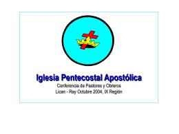 Descargar - Iglesia Pentecostal Apostólica