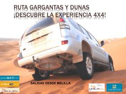 gargantas y dunas desde Melilla 5 DIAS