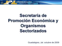 Secretaría de Promoción Económica y Organismos