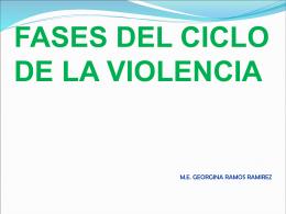 04 ciclo de violencia - vio-len-cia