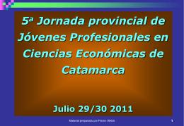 Diapositiva 1 - Consejo Profesional de Ciencias Económicas
