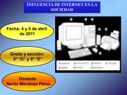 INFLUENCIA DE INTERNET EN LA SOCIEDAD 2