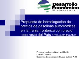Desaarrollo Economico de Cd. Juárez