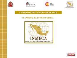 El Catastro del Futuro en México