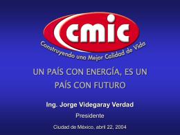 UN PAÍS CON ENERGÍA, ES UN PAÍS CON FUTURO 15