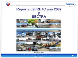 Presentación SECTRA Sr. Rubén Triviño