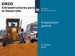 ORIO Infraestructuras para el Desarrollo